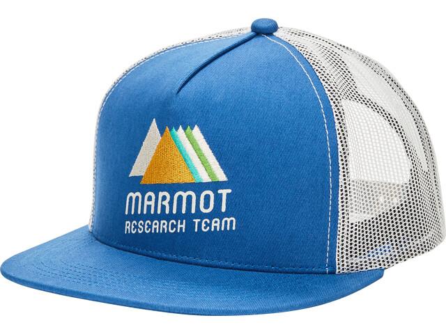 Marmot Casquette trucker, varsity blue/moonbeam